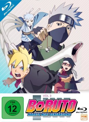 Boruto: Naruto Next Generations - Vol. 3 - Episode 33-50 (3 Blu-rays)
