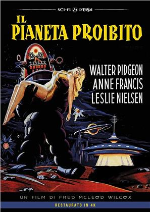 Il pianeta proibito (1956) (Sci-Fi d'Essai, Restaurato in 4K)