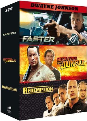 Faster / Bienvenue dans la jungle / Rédemption (3 DVD)