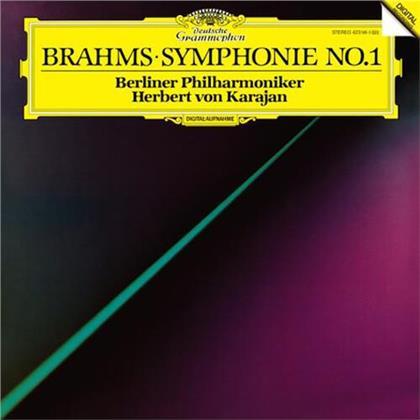 Johannes Brahms (1833-1897), Herbert von Karajan & Berliner Philharmoniker - Symphony No. 1 (LP)