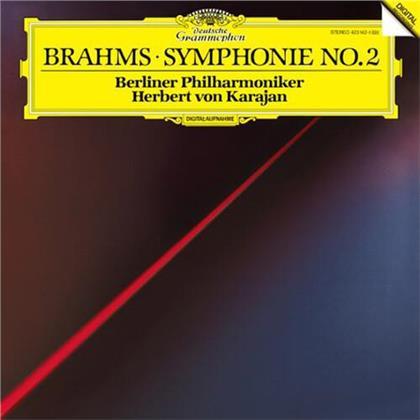 Johannes Brahms (1833-1897), Herbert von Karajan & Berliner Philharmoniker - Symphony No. 2 (LP)