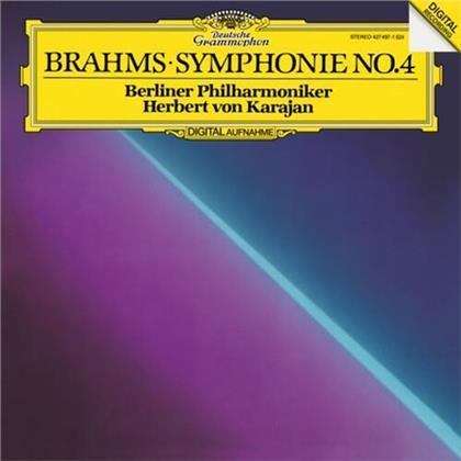 Johannes Brahms (1833-1897), Herbert von Karajan & Berliner Philharmoniker - Symphony No. 4 (LP)