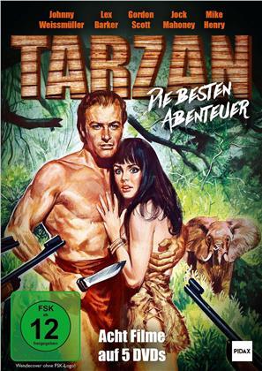 Tarzan - Die besten Abenteuer (Pidax Film-Klassiker, 5 DVDs)