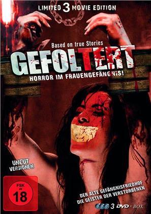 Gefoltert - Horror im Frauengefängnis (Limited Edition, Uncut, 3 DVDs)