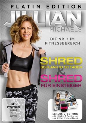 Jillian Michaels - Shred - Schlank in 30 Tagen / Shred für Einsteiger (Platin Edition, 2 DVDs)