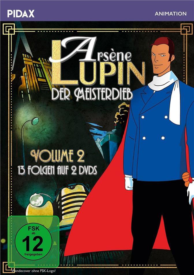Arsène Lupin, der Meisterdieb - Volume 2 (Pidax Animation, 2 DVDs)