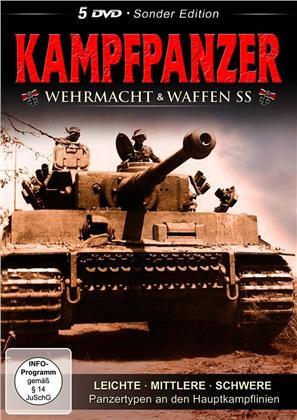 Kampfpanzer - Wehrmacht & Waffen SS (5 DVDs)