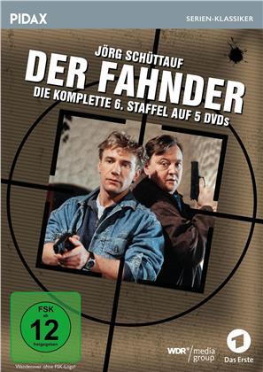 Der Fahnder - Staffel 6 (Pidax Serien-Klassiker, 5 DVDs)