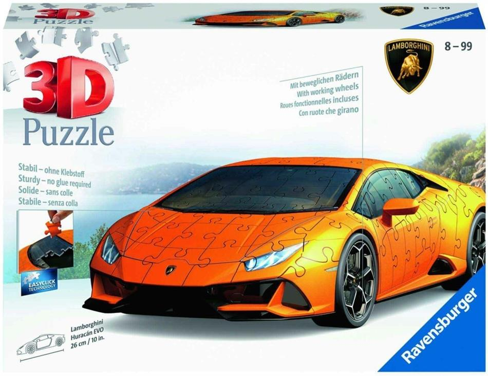 Lamborghini Huracán EVO - 108 Teile 3D Puzzle