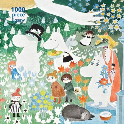 Die wundersame Reise ins Mumintal (Puzzle) - Moomin