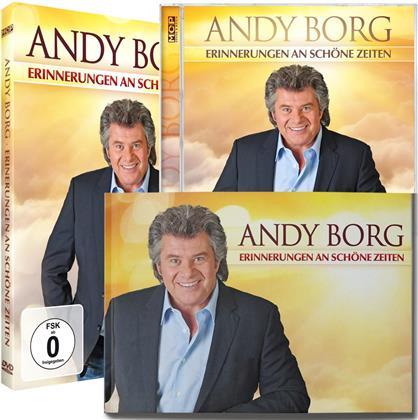 Andy Borg - Erinnerungen an schöne Zeiten (DVD + CD + Buch)