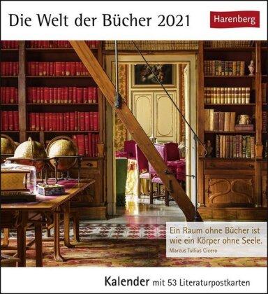 Die Welt der Bücher Kalender 2021