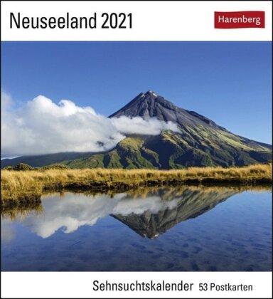 Neuseeland Kalender 2021