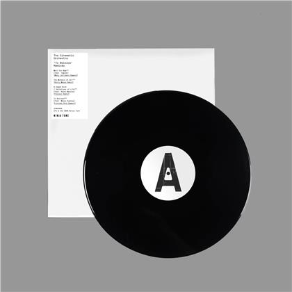 The Cinematic Orchestra - To Believe - M. Lattimore/K.Moran/Fennesz Rmx (LP)