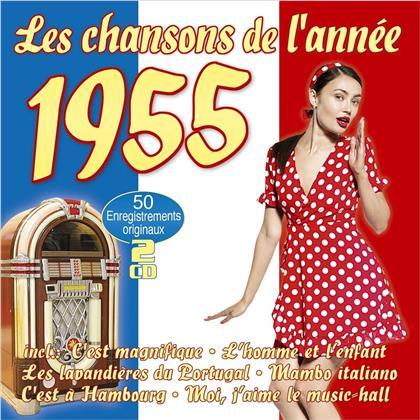 Les Chansons De L'annee 1955 (2 CD)
