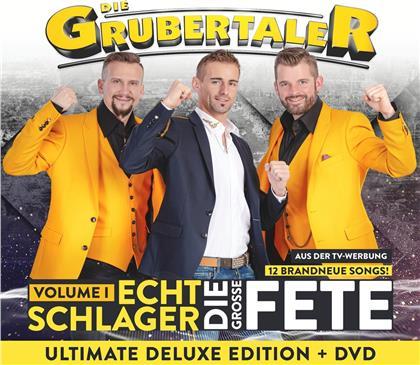 Die Grubertaler - Echt Schlager, die große Fete (Deluxe Edition, CD + DVD)