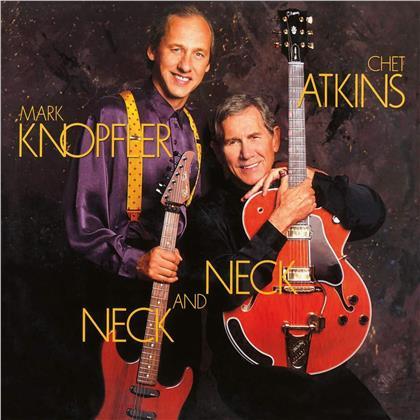 Mark Knopfler & Chet Atkins - Neck And Neck (Music On Vinyl, 2020 Reissue, Limited, Blue Vinyl, LP)