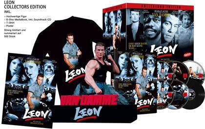 Leon (1990) (+ Büste, + T-Shirt, Edizione Limitata, Mediabook, Uncut, Blu-ray + DVD)