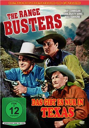 The Range Busters - Das gibt es nur in Texas - Kolorierte Fassung (1940) (Edizione Restaurata, Uncut)