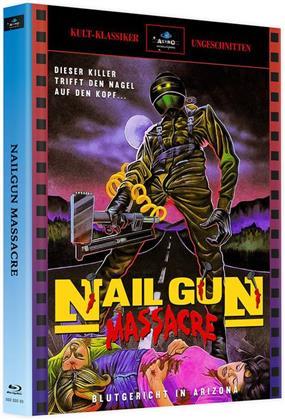 Nail Gun Massacre (1985) (Cover A, Kult-Klassiker, Limited Edition, Mediabook, Uncut, 2 Blu-rays)