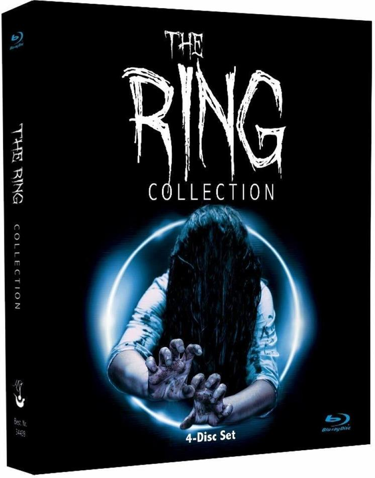 The Ring - Legacy Collection (Digipack, Limited Edition, 4 Blu-rays)