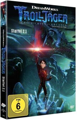 Trolljäger - Geschichten aus Arcadia - Staffel 2.1 (2 DVDs)