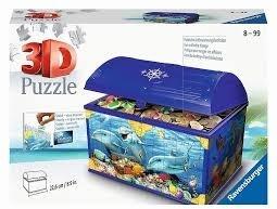 Schatztruhe Unterwasserwelt - 216 Teile 3D Puzzle