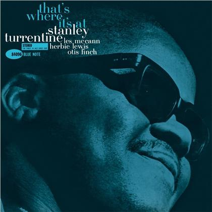 Stanley Turrentine - That's Where It's At (2020 Reissue, Blue Note, LP)