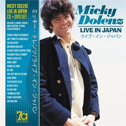Micky Dolenz - Live In Japan 1982 (+ Bonustrack, CD + DVD)