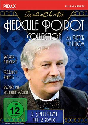 Agatha Christie - Hercule Poirot Collection (Pidax Film-Klassiker, 2 DVDs)