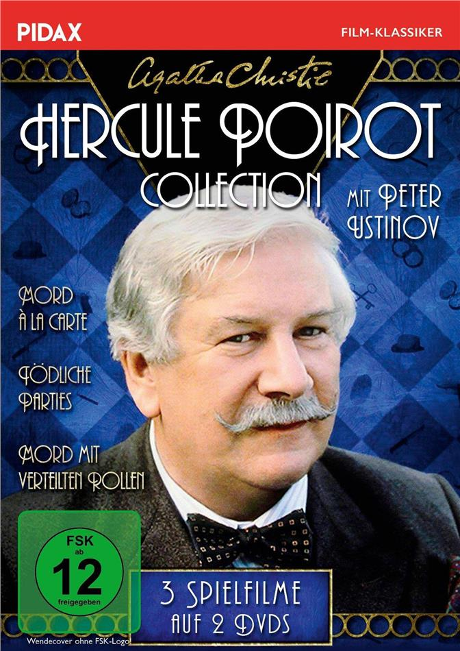 Agatha Christie - Hercule Poirot Collection (Pidax Film-Klassiker, 2 DVDs)