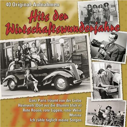 Hits Der Wirtschaftswunderjahre (2 CDs)