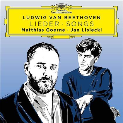 Ludwig van Beethoven (1770-1827), Matthias Goerne & Jan Lisiecki - Beethoven Songs (Limited, HQCD, Japan Edition)