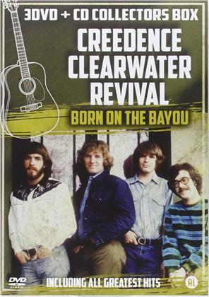 Creedence Clearwater Revival - Born on the Bayou (3 DVDs + CD)