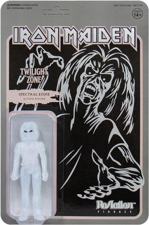Iron Maiden Reaction - Twilight Zone (Single Art)