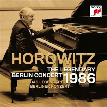 Domenico Scarlatti (1685-1757), Robert Schumann (1810-1856) & Vladimir Horowitz - Das legendäre Berliner Konzert 1986 (2 CDs)