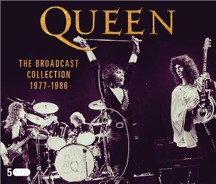 Queen - The Broadcast Collection 1977-86 (5 CDs)