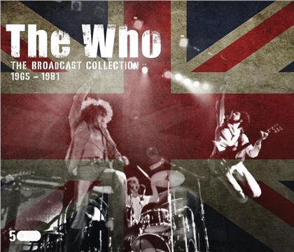 The Who - The Broadcast Collection 1965-81 (5 CDs)