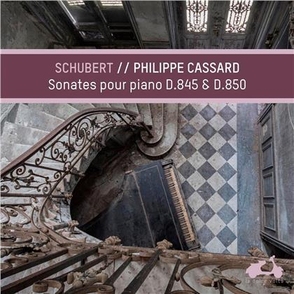 Philippe Cassard & Franz Schubert (1797-1828) - Sonates pour piano D845 & D850