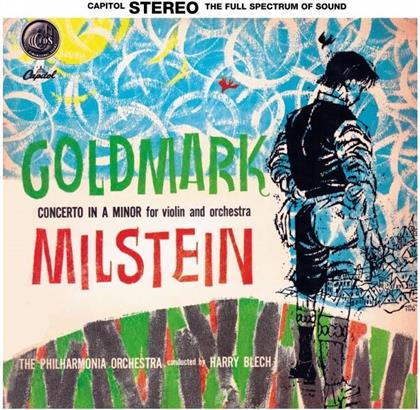 Carl Goldmark (1830-1915), Harry Blech, Nathan Milstein & Philharmonia Orchestra - Concerto In A Minor For Violin And Orchestra (LP)