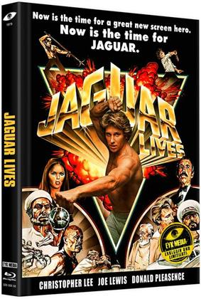 Jaguar lives - Jaguar lebt (1979) (Cover B, Limited Edition, Mediabook, Uncut, Blu-ray + DVD)
