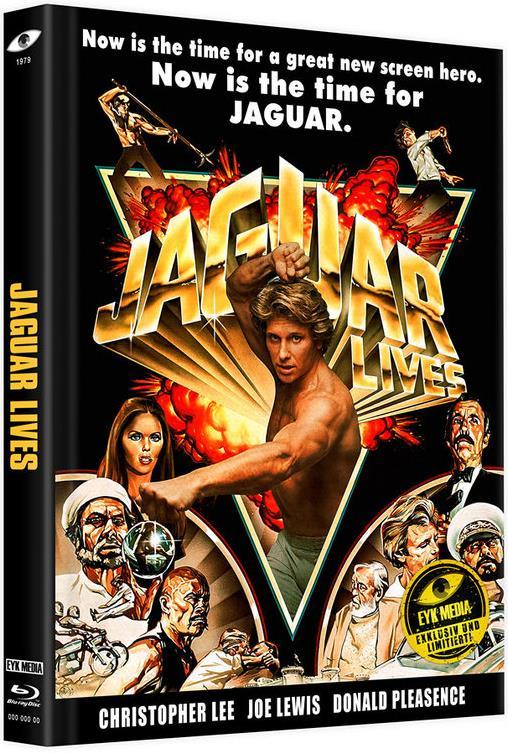 Jaguar lives - Jaguar lebt (1979) (Cover B, Limited Edition, Mediabook, Uncut, Blu-ray + DVD)