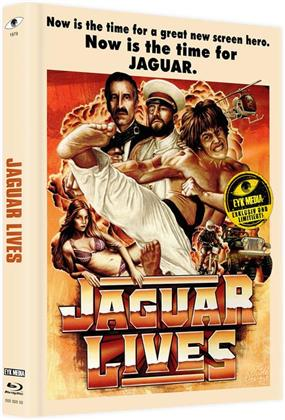 Jaguar lives - Jaguar lebt (1979) (Cover A, Limited Edition, Mediabook, Uncut, Blu-ray + DVD)