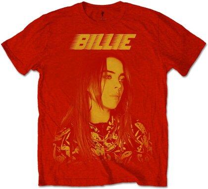 Billie Eilish Unisex Tee - Racer Logo Jumbo