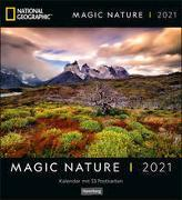 Magic Nature Postkartenkalender National Geographic Kalender 2021
