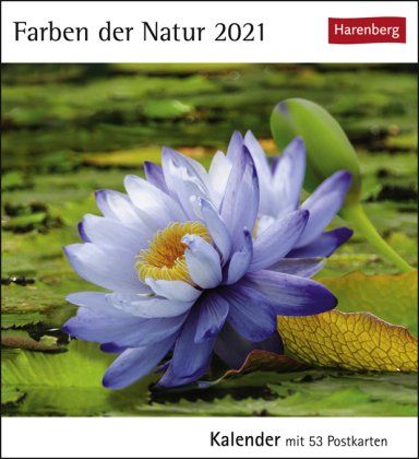 Farben der Natur Kalender 2021