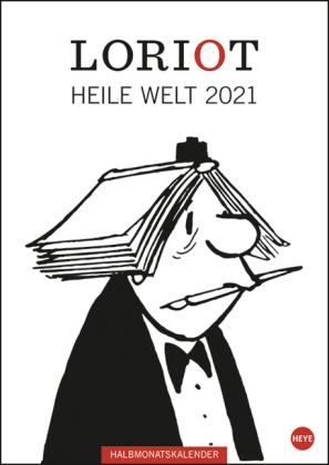 Loriot Heile Welt Halbmonatskalender Kalender 2021