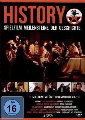 Meilensteine der Geschichte - 11 Filme (4 DVDs)