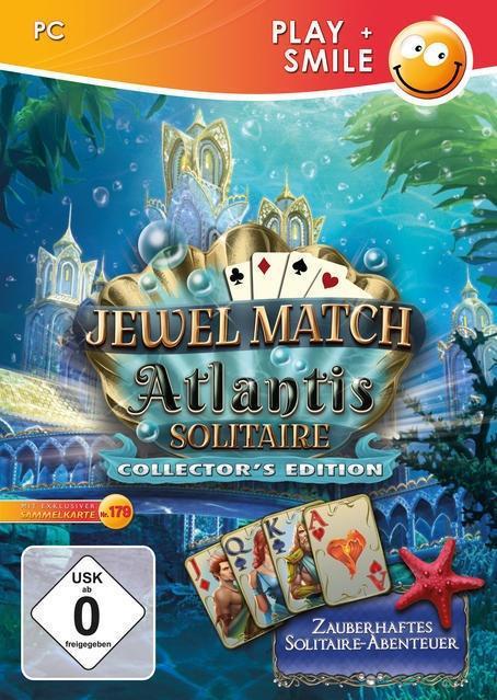 Jewel Match Atlantis Solitaire (Édition Collector)