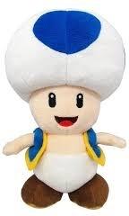 Nintendo: Toad blue - Plüsch 20cm